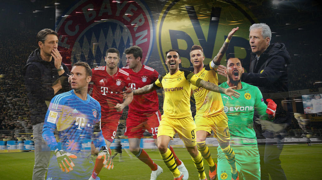 Bvb Vs Fc Bayern Live Der Bundesliga Kracher Im Ticker Tv Und Live