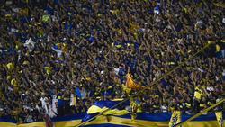 Die Fans der Boca Juniors brennen bereits auf das Hinspiel im Superclásico gegen River Plate