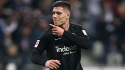 Luka Jovic startet in dieser Saison bei Eintracht Frankfurt richtig durch