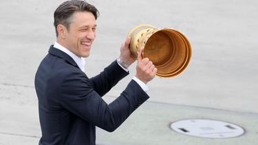 Niko Kovac schwärmt von Pokalsieg mit Eintracht Frankfurt