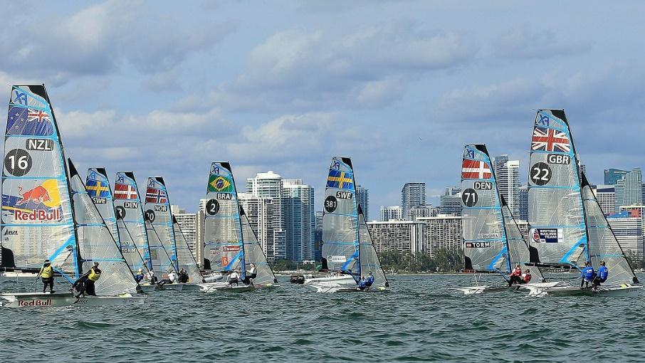 Die deutsche Segler präsentierten sich in Miami formstark