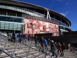 Emirates Stadium vor dem Spiel