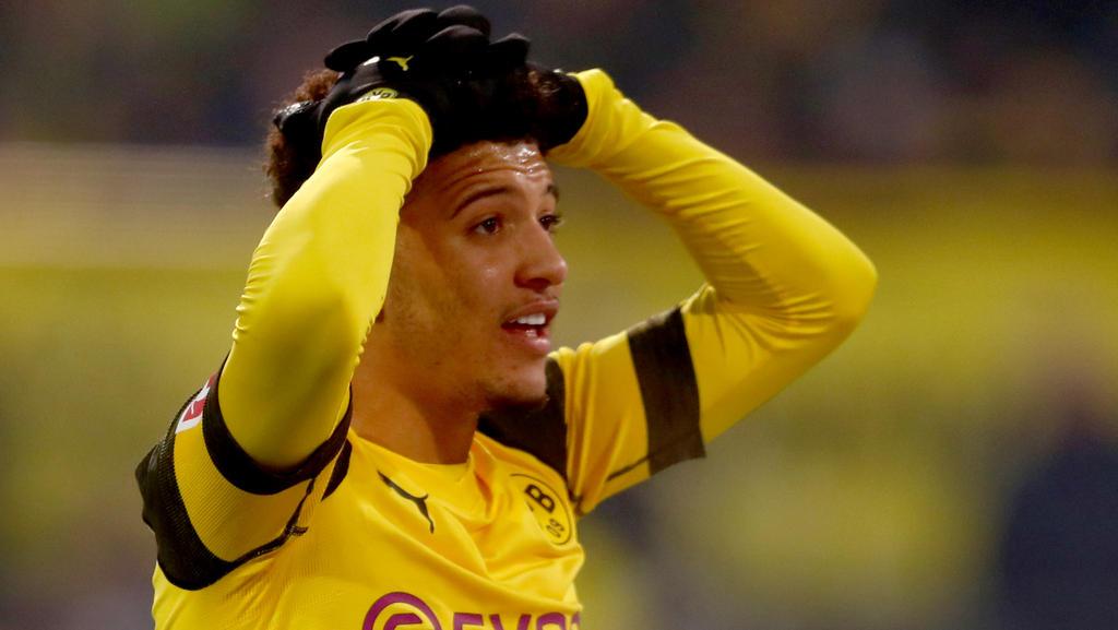 Jadon Sancho traf doppelt für den BVB, musste jedoch zittern