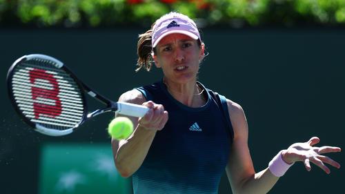 Andrea Petkovic hat den Auftakt in der Fed-Cup-Relegation erfolgreich bestritten - Julia Görges legte nach