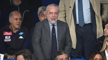 Aurelio De Laurentiis, presidente del Nápoles. (Foto: Getty)