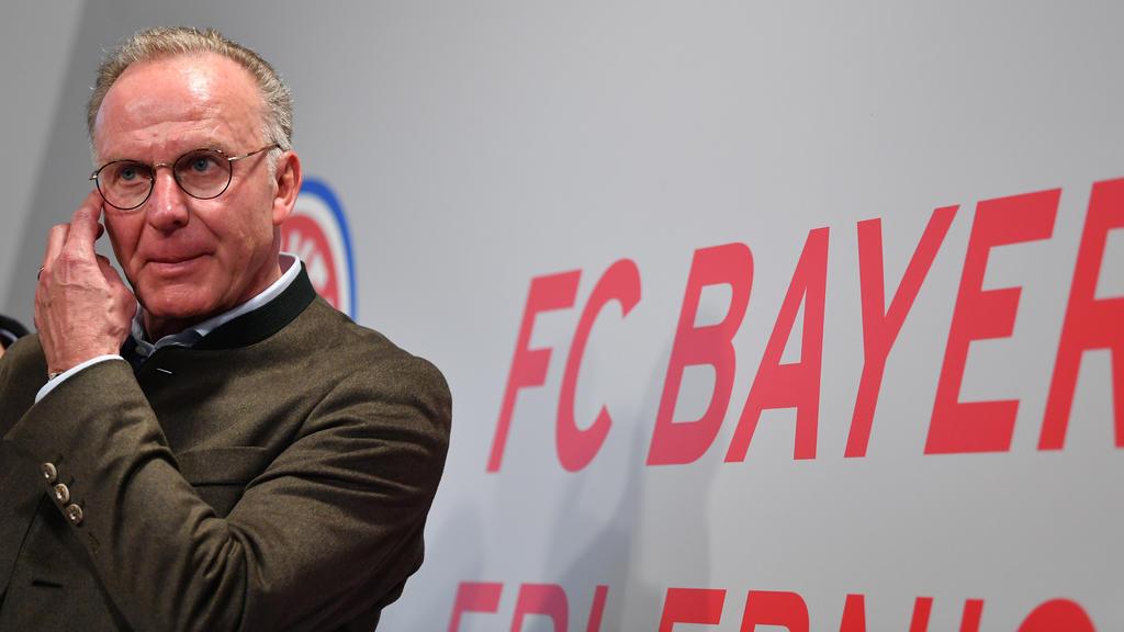 Karl-Heinz Rummenigge lobte den Kader des FC Bayern