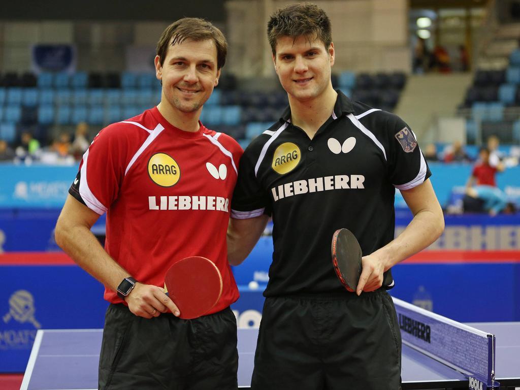 Dimitrij Ovtcharov und Timo Boll wollen bei der Heim-WM vorne mitspielen