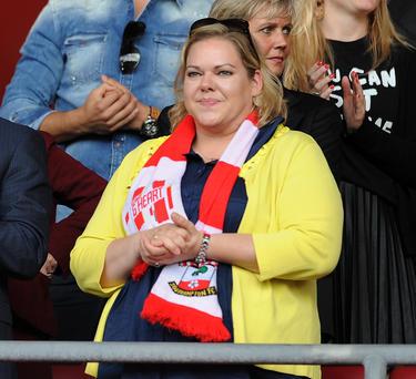 Una aficionada del Southampton en una imagen de archivo. (Foto: Getty)