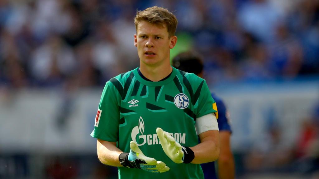 Der Vertrag von Alexander Nübel beim FC Schalke 04 läuft 2020 aus
