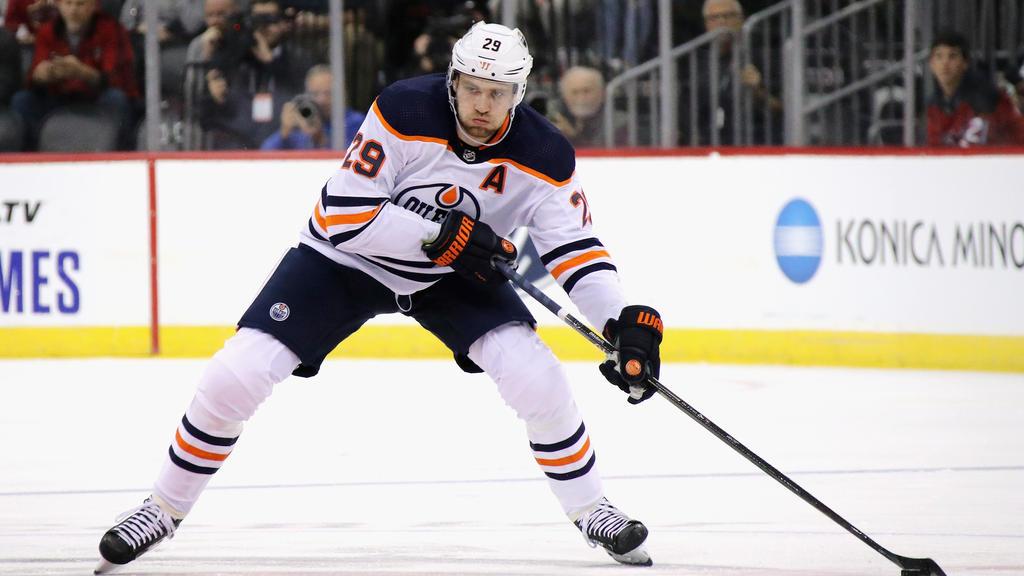 Leon Draisaitl setzte die Erfolgsserie mit den Edmonton Oilers fort