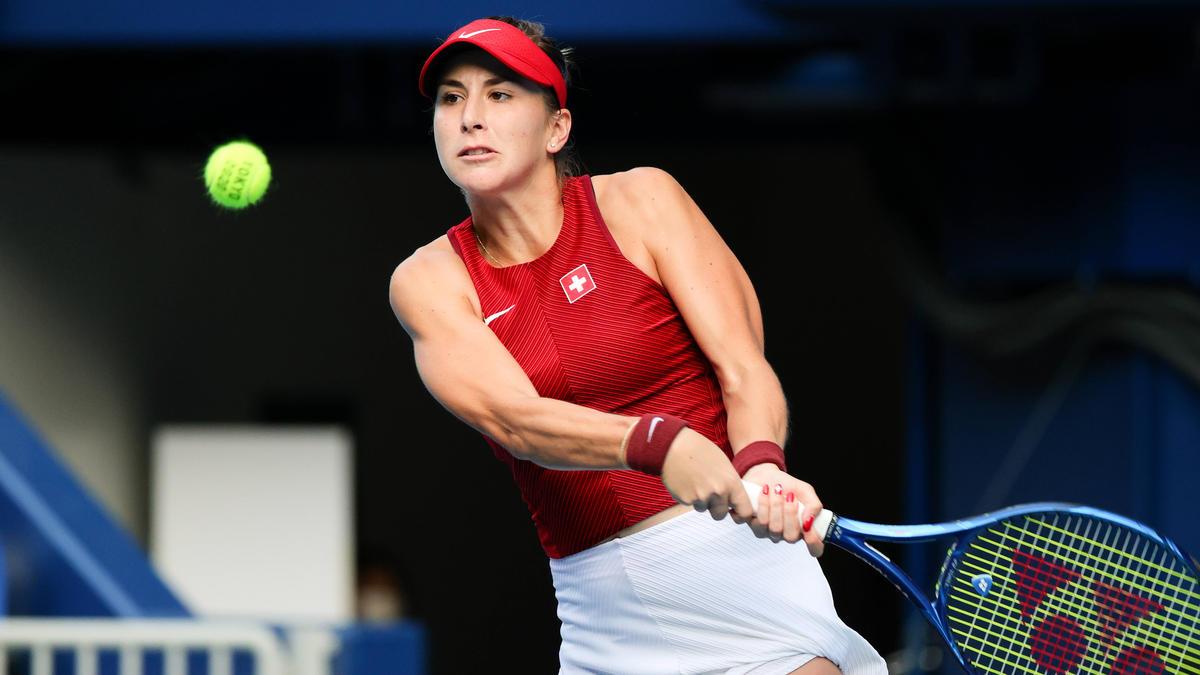 Belinda Bencic steht in Tokio im Tennis-Finale