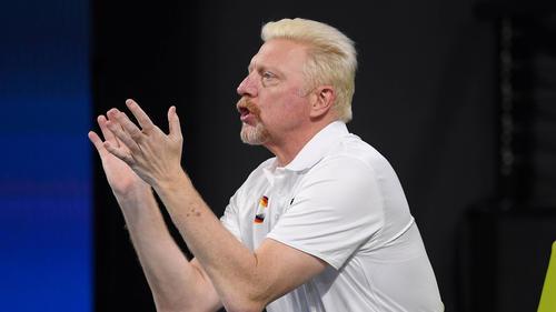 Boris Becker ist Chef des Herrentennis beim DTB
