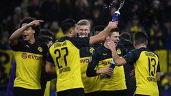 BVB-Stürmer Erling Haaland erzielte zwei Treffer gegen PSG