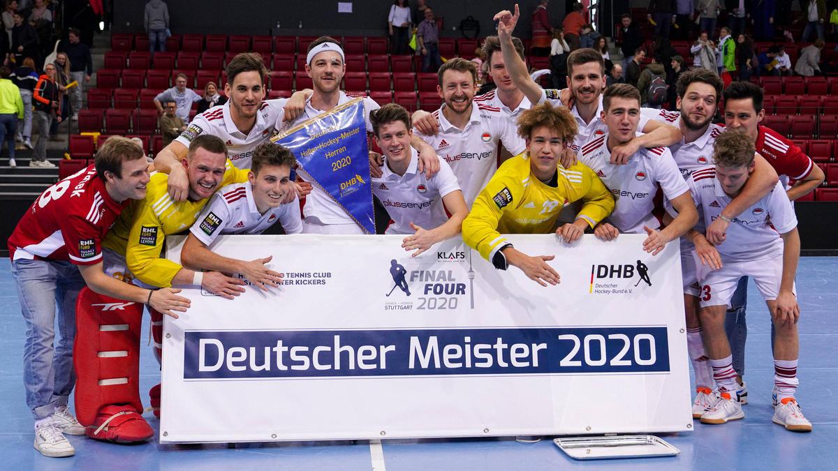 Rot-Weiss Köln sicherte sich den Meistertitel im Hallenhockey