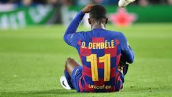 Ousmane Dembélé ist erneut schwer verletzt