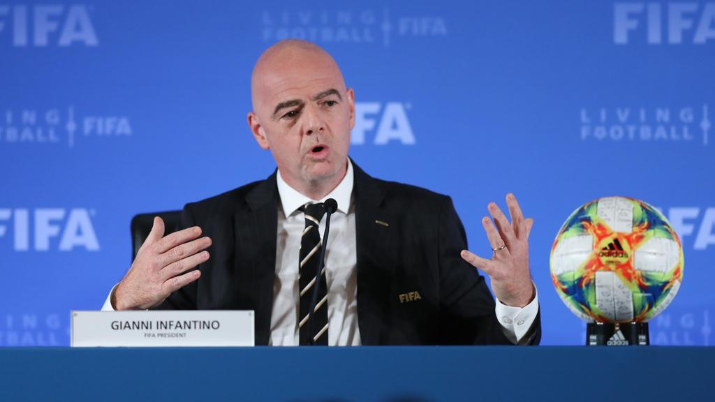 Gianni Infantino, Präsident des Weltverbandes FIFA