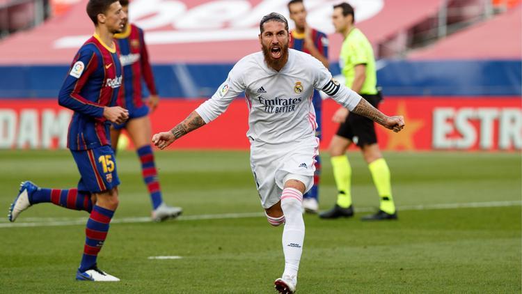 Kapitän Sergio Ramos brachte Real Madrid auf die Siegerstraße