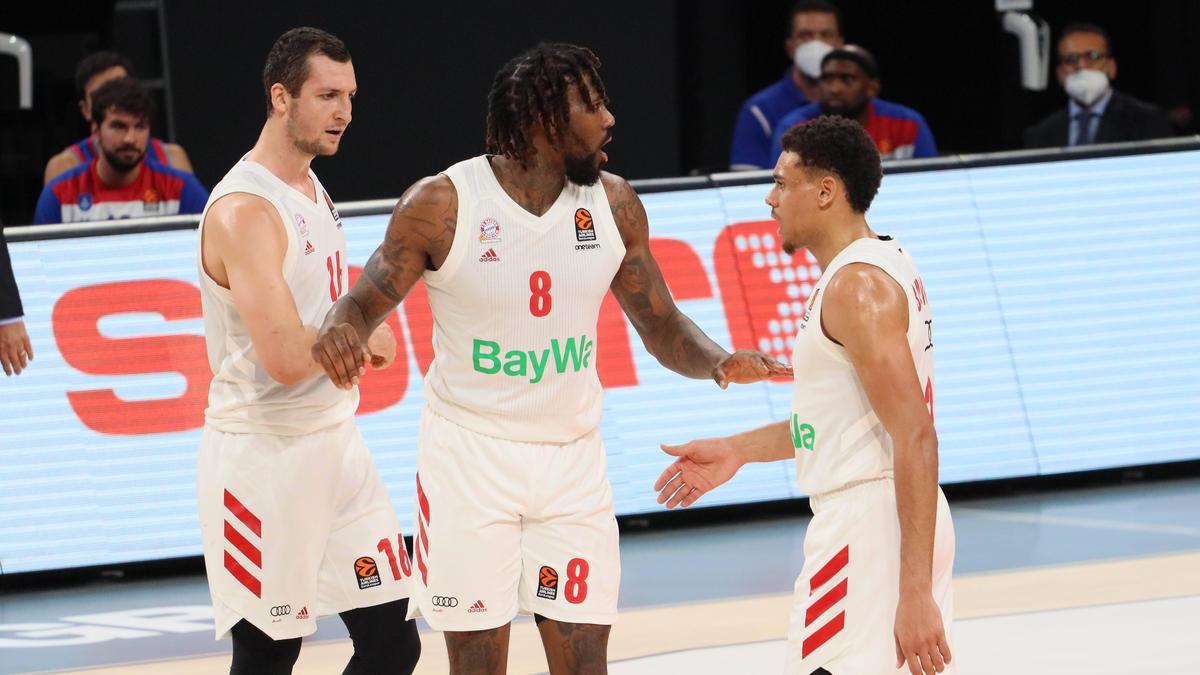 Die Basketballer des FC Bayern unterlagen in Moskau