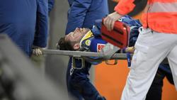 Mark Uth vom FC Schalke 04 ist nicht mehr im Krankenhaus