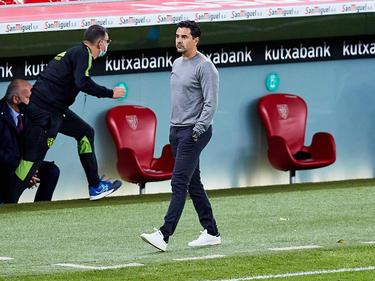 Míchel deja de ser el técnico de la SD Huesca.