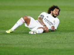 Marcelo se une a la lista de bajas en defensa del conjunto blanco.