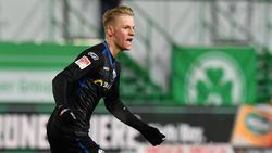 Chris Führich trifft mit dem SC Paderborn auf seinen Ex-Klub BVB