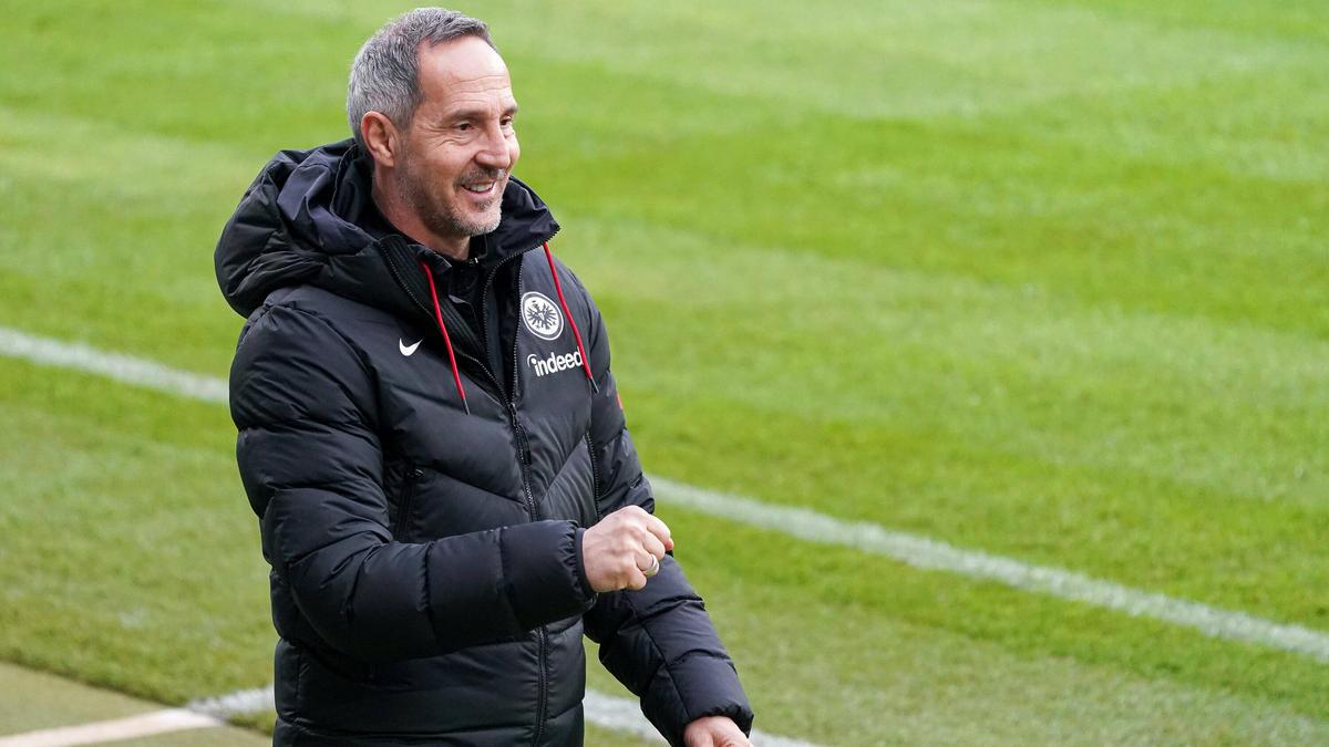Adi Hütter will mit Eintracht Frankfurt in die Champions League
