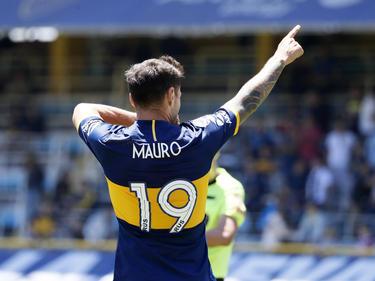 Zárate anotó un doblete muy importante para Boca.