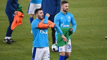 Serie A statt FC Schalke 04? Sead Kolasinac (l.) und Shkodran Mustafi
