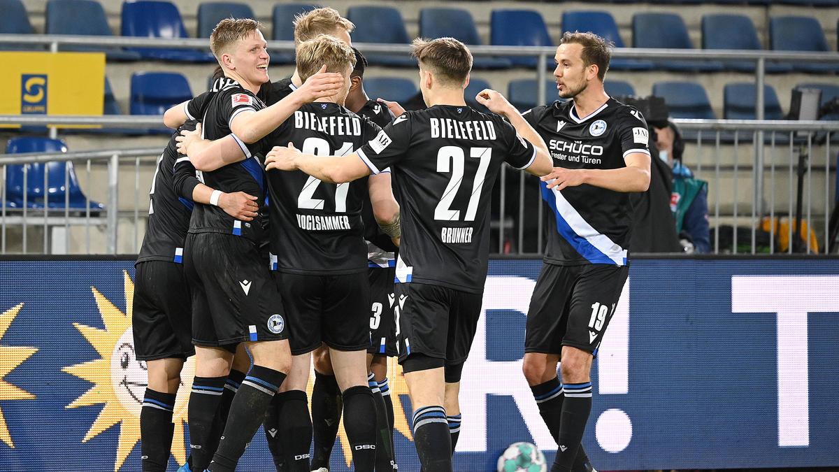 Arminia Bielefeld hat den SC Freiburg knapp geschlagen