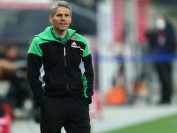 Trainer Dietmar Kühbauer will nicht von einer Krise beim SK Rapid reden