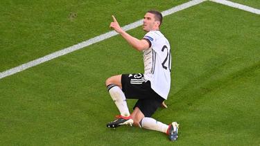 Robin Gosens war in einer starken DFB-Elf der beste Spieler