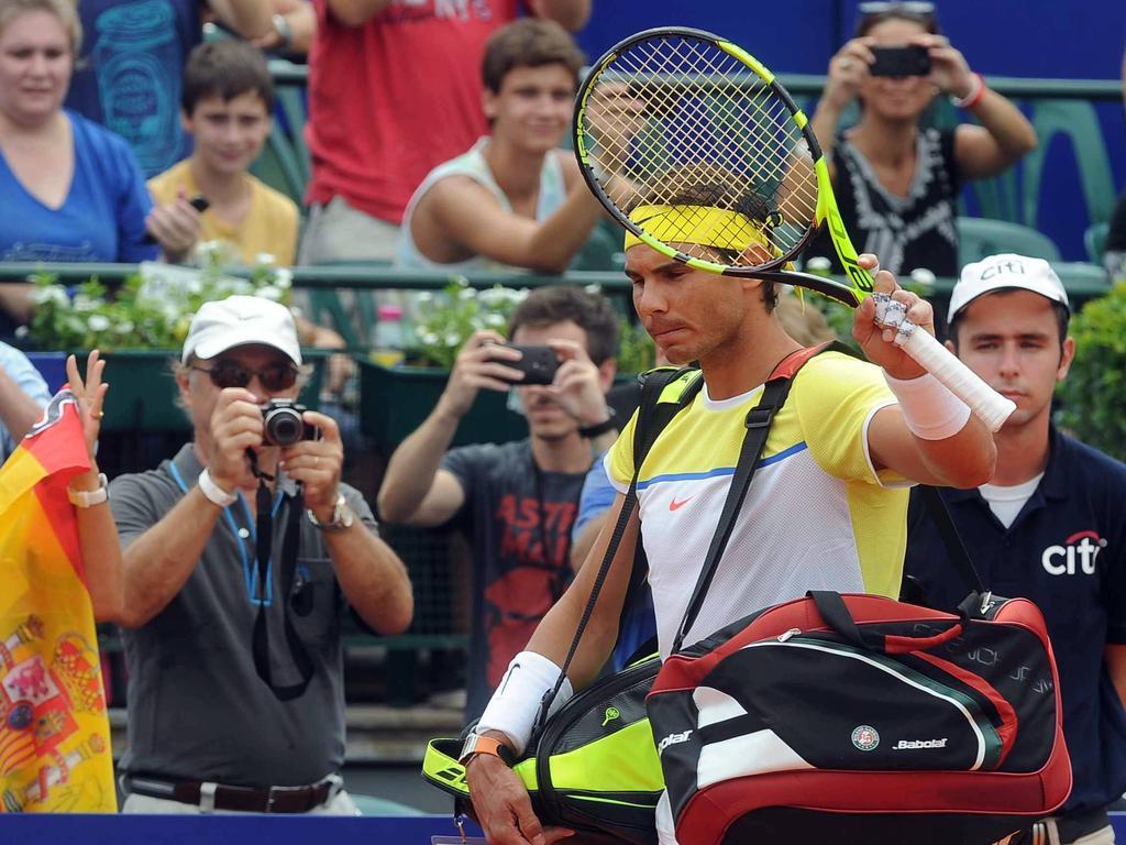 Rafael Nadal unterlag in Buenos Aires dem Österreicher Dominic Thiemi
