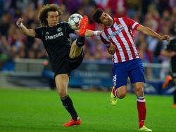 David Luiz contrasta Diego Costa