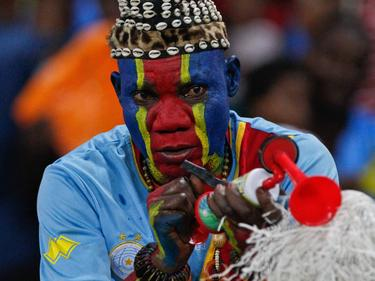 Un aficionado de la República Democrática del Congo. (Foto: Imago)