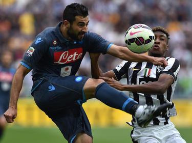 Albiol en un encuentro ante la Juventus.