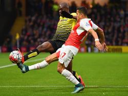 Alexis Sanchez macht Watford das Leben schwer