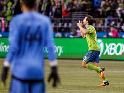 Andreas Ivanschitz bejubelt den zwischenzeitlichen Ausgleich für Seattle
