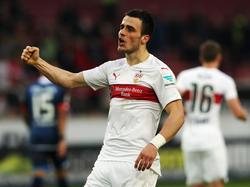 Kostić fue uno de los mejores del Stuttgart en la temporada 2015/2016. (Foto: Getty)