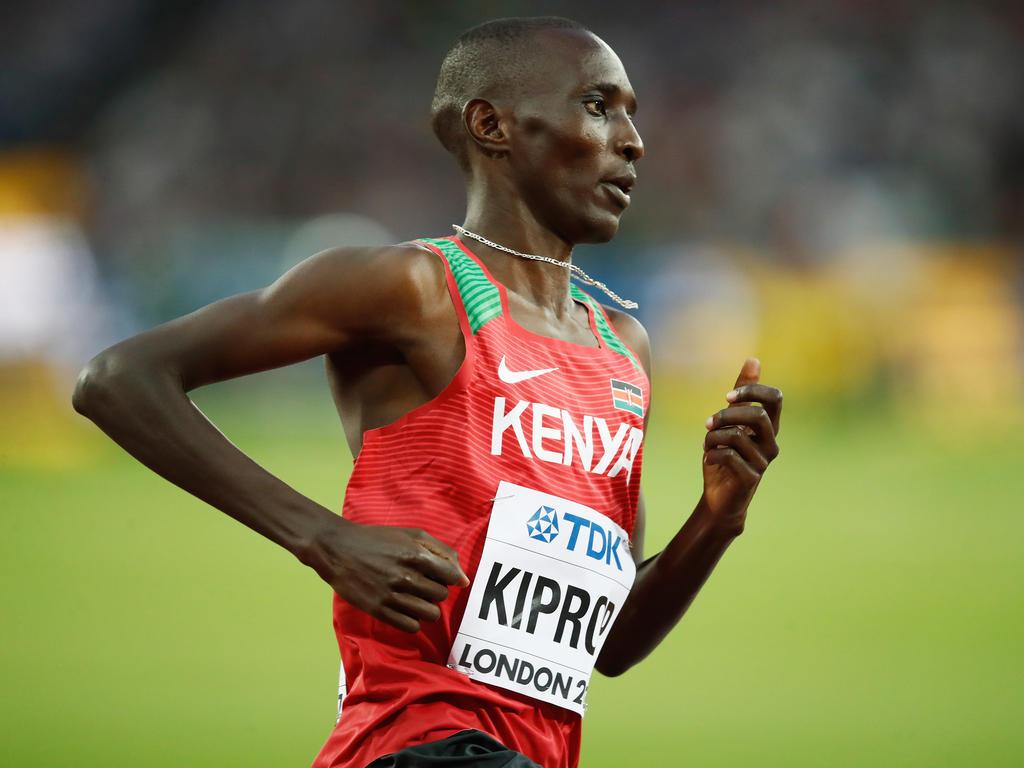 Asbel Kiprop steht unter Dopingverdacht