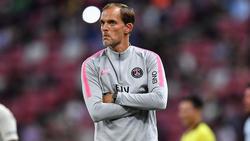 Thomas Tuchel feierte mit seinem neuen Team am 1. Spieltag der Saison