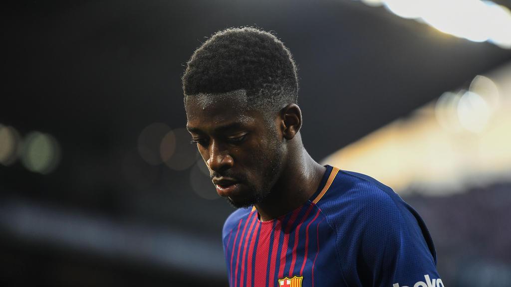 Ousmane Dembélé hat bei Barca noch einen Vertrag bis 2022