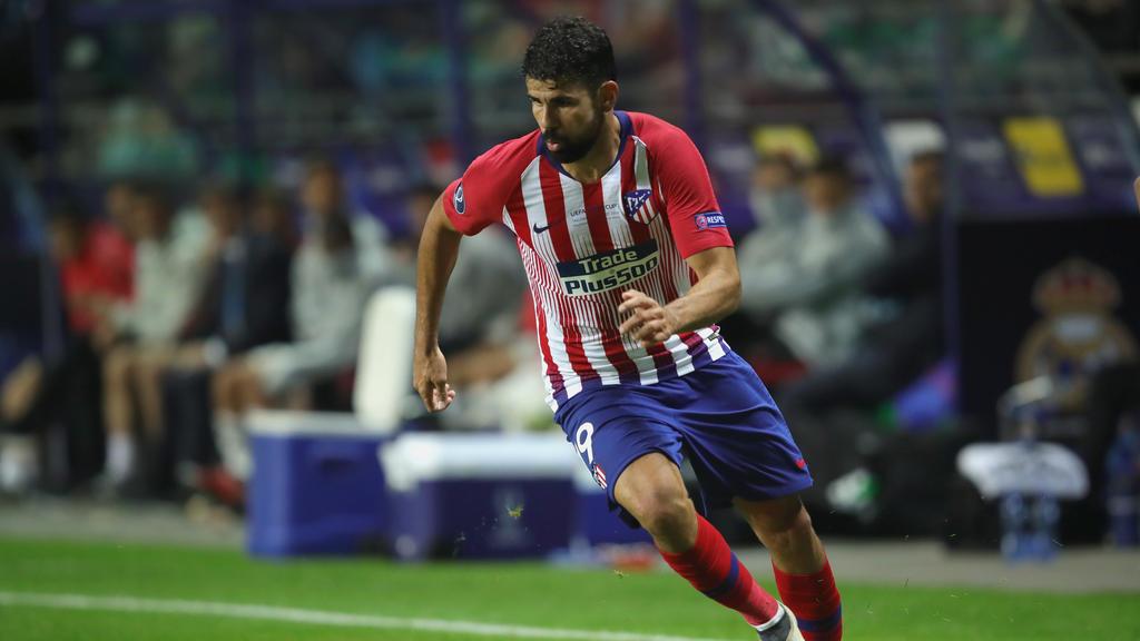 Atlético Madrid muss vorerst auf die Dienste von Diego Costa verzichten