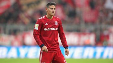 James Rodríguez fühlt sich angeblich beim FC Bayern wohl