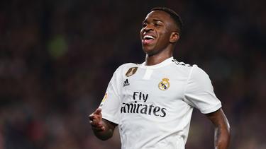 Vinicius Jr. ist der neue Hoffnungsträger von Real Madrid