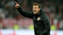 Markus Weinzierl steht vor dem Heimspiel gegen Hannover gewaltig unter Druck