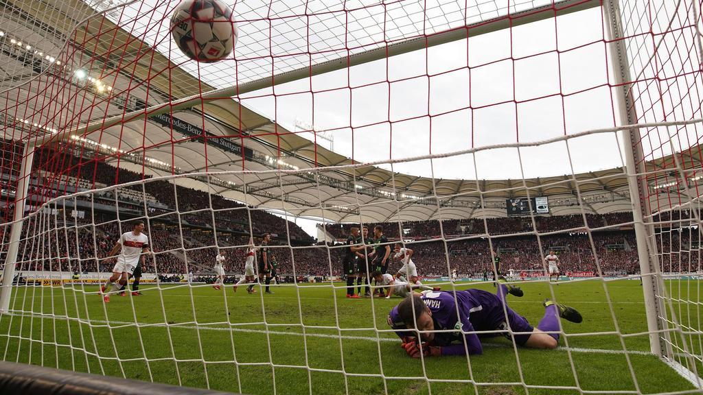 Der VfB Stuttgart feierte gegen Hannover 96 ein Schützenfest