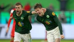 Freudentaumel beim VfL Wolfsburg