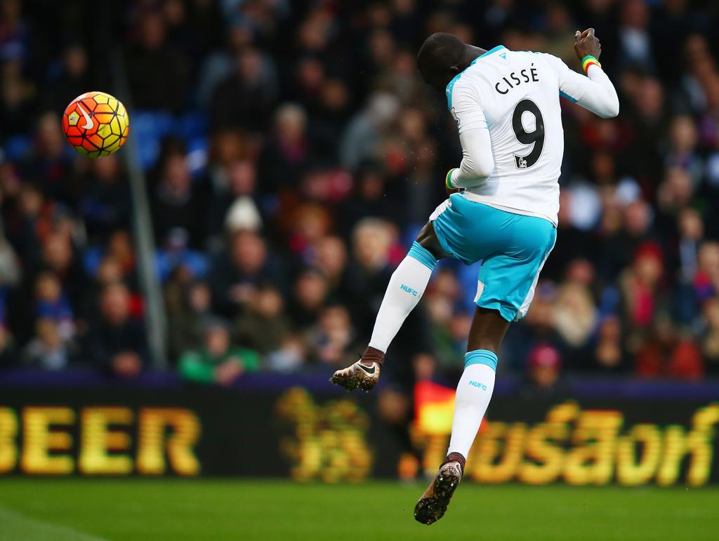 Cissé stürmte für Newcastle United