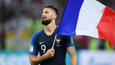 Giroud ya es el tercer mejor goleador francés de la historia. (Foto: Getty)